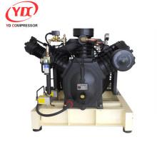 compresor de aire rotatorio de la paleta del compresor de aire de la alta presión no lubricado con el tanque de aire