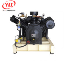 High pressure piston compressor for refrigerator r134a compressor Booster 175CFM 508PSI 25HP