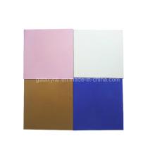 Placa de titanio de alta calidad en diferentes colores de galvanoplastia