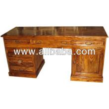 Sheesham Holz Büro Schreibtisch
