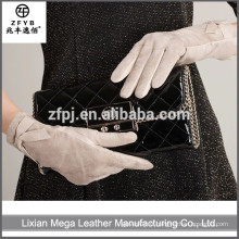 Nouvelle conception de mode à bas prix Women Leather Gloves 2016