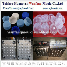 6 cavity oil bottle cap injection mould/high quality plastic bottle cap mold making