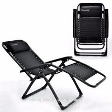 Folding beach chair easy folding zero gravity chair sun lounge chair use outdoor/garden/indoor