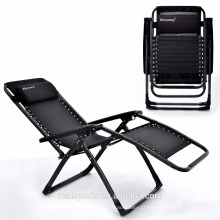 Dobrável cadeira de praia fácil de dobrar cadeira de gravidade zero cadeira de sol uso ao ar livre / jardim / interior