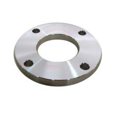 Brida de placa de alta presión de acero al carbono