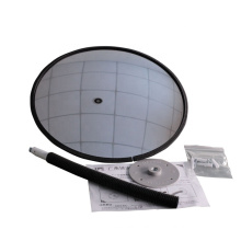 KL Waterproof Hot Acrylic Portable Anti-thefty Mirror for Indoor Safety,  Adjustable Rotation Mirror/