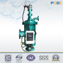 Filtre à eau de filtrage d'eau de mer autonome automatique 100um