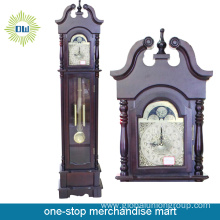 Outdoor Garden Metal Floor Clock