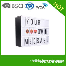 My Cinema Lightbox and LED withchangeable letter tiles to create personalized signs and Includes USB
