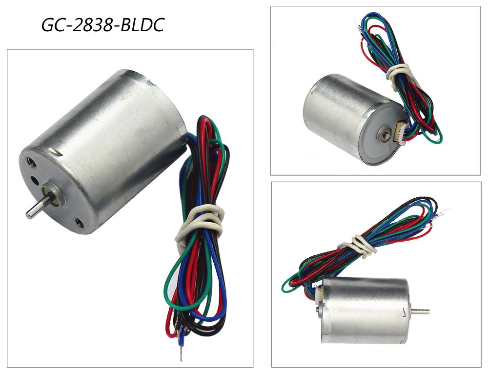 2838 Brushless dc motor