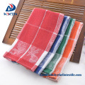 Hot selling 100% cotton embroidered dish washing cloth