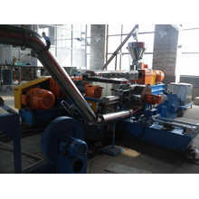 LSHF compound making machine with Two Stages extruder