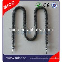 Radiateur à ailettes MICC haute puissance en forme de W