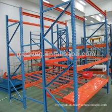 China Hersteller Jracking hohe Qualität Q235 verwendet Karton Durchflussregal