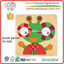 Baby Eye Hands Desarrollo Juguetes Educativos Wooden Kids Jugar Puzzle