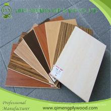 Farbige 18mm Melamin Papier Gesicht Melamin Sperrholz für Möbel