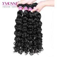 Fashion Italian Curly Virgin Malaysian Hair Weave
