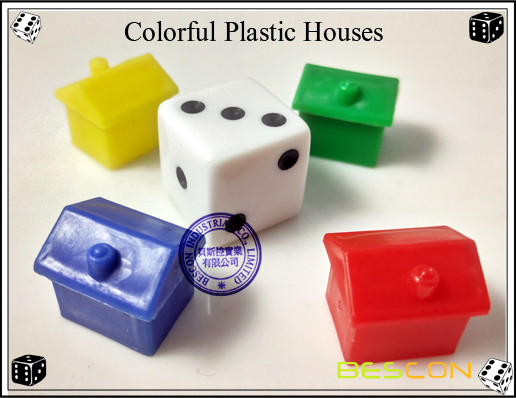 Colorful Plastic Houses