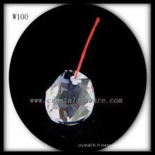 Belle perle de cristal pour la décoration à la maison W100