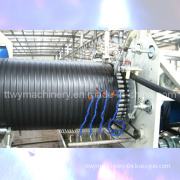 Plastic HDPE Winding Pipe Production Line/Extrusion Line/Extruder Machine (TCRG-1600)