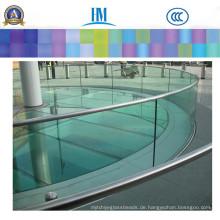 Sicherheits-großes Badezimmer-dekorative Wand / freies Glas