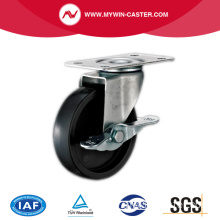 Platte Swivel Light Duty Caster