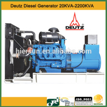 50hz AC three phases 704kw deutz diesel generator