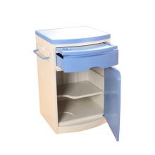 Armário de cabeceira com armários de plástico ABS para hospitais
