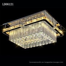 lámparas de araña de hotel lámparas de cristal de decoración de boda