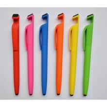 Сотовый телефон стенд ручка с одной стилуса Touch и пылесос для экрана