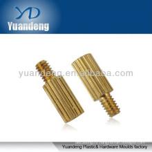 Knurled head thumb screws/ Brass parts/ Knurled brass standoff/ Brass insert