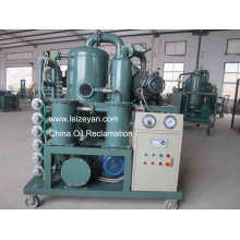 Double Stage High Vacuum Transformer Oil Purification Equipment