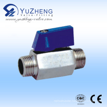 Stainless Steel M/M Thread Mini Ball Valve