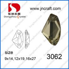 Costurar em strass cristal para atacado (dz-3062)