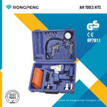 Juegos de herramientas neumáticas Rongpeng RP7811