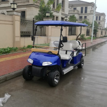 carros de golf eléctricos con pilas de 6 pasajeros para la venta