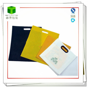 Customized Non-Woven Handle Bag for Clothes, Food, Goods