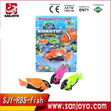 Clownfish Electric mini rc fish Juguete colorido Robot