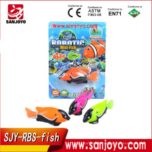 Clownfish Electric mini rc fish Colorful toy Robot