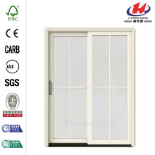 French Vanilla Prehung Sliding Patio Door