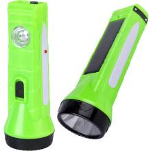 Solar linterna LED con batería recargable