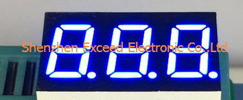 Triple Digit 7 Segment LED Display