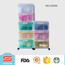 familia gabinete de cajón de almacenamiento lager de plástico para almacenar artículos diversos
