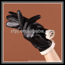 lady winter sheepskin glove