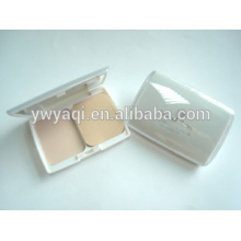 Yaqi cosmetics compact powder packaing square compact powder