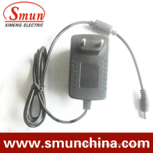24W 12V 2A Wandmontage Stecker in AC / DC-Adapter