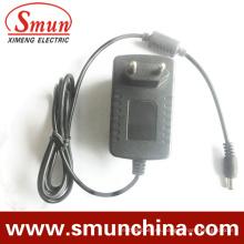 Enchufe de pared 24W 12V 2A Enchufe adaptador de CA / CC de potencia