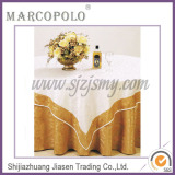 polyester tablecloth/lace oval tablecloths/ cheap pleated wedding plain tablecloth