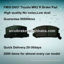 D657 Toyota MR2 halbmetallische Bremsteile