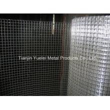 Hot Aspersion en acier galvanisé soudé, maillage métallique carré, Chine Vente en gros Galvanisé à maille hexagonale